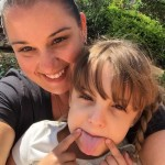 Million Mile Month participant Danielle and her daughter