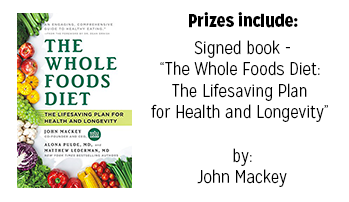Prize - Whole Foods Diet Book