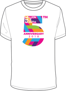 MMM 5th anniversary t-shirt